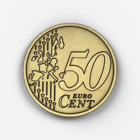free coin 3d model