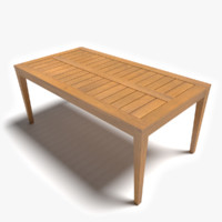 3d patio table