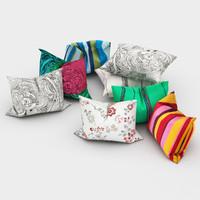 3d model of pillows ikea 2
