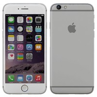 3d iphone 6 silver