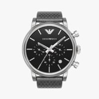 3d model emporio armani chronograph watch