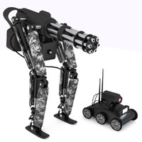 3d mech robots model