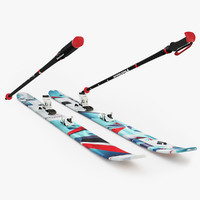 black diamond skis 3d max
