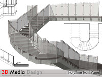 rail archicad 3d 3ds
