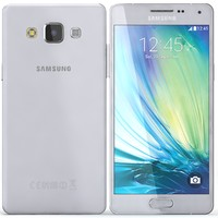 3d samsung galaxy a5 gray model
