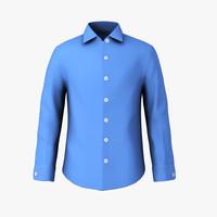 blue t shirt 3d max