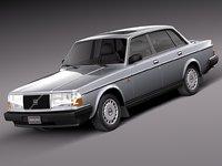 3ds max sedan 1993 240