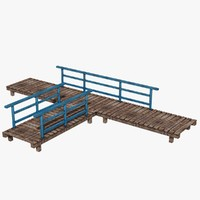 wooden platform 3ds