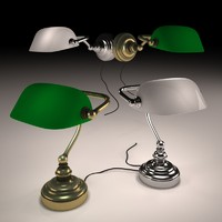 3dsmax classic table lamp