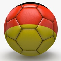 soccerball pro ball 3d obj