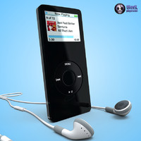 3d apple ipod nano