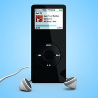apple ipod nano 3d lwo