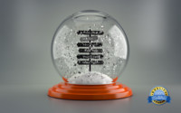 3ds max snow globe happy