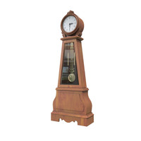3ds max grandfather clock