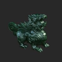 3d model ancient chinese