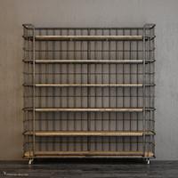 71 Circa 1900 Baker's Rack