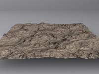3d obj terrain mountains maps
