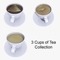 3ds tea cups