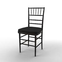 ballroom chair 3d model