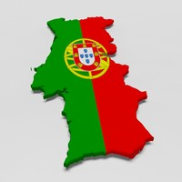 portugal 3d model