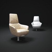 3d model of natuzzi-brend-chair