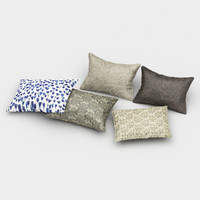 free pillows 5 3d model