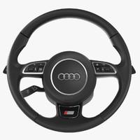 max audi s-line steering wheel