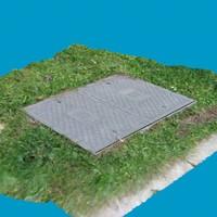 manhole 2 3d model