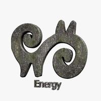 3ds max energy symbol