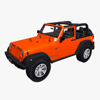 jeep wrangler 3d max