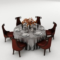 3d max furniture set