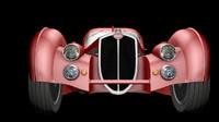 3d model old bugatti