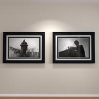 3d framed art dual matte model