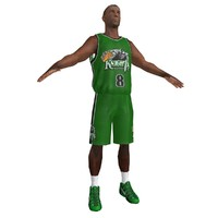3d model of basketball player