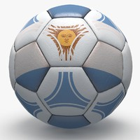 3d soccerball pro ball model