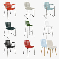 3ds max vitra hal chair