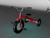 3ds max tricycle cycle
