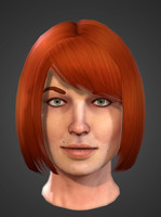Female realtime head