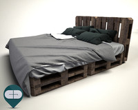 3ds pallet bed