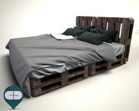 3ds pallet bed