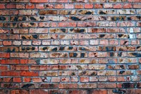 Grungy urban background of a brick wall
