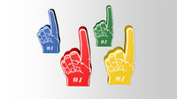 styrofoam hands c4d