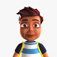 3ds max boy man human