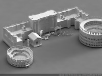 3ds max pack roman buildings