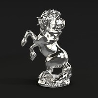 giorgio art accessories unicorno 3d max
