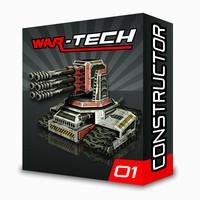 tower modular mech turrets 3d fbx