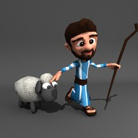 3d animation shepherd