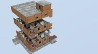 3d building interiors - model
