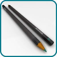 pencil obj free