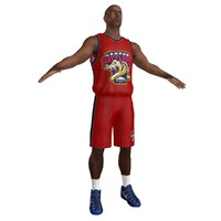 3ds max basketball player